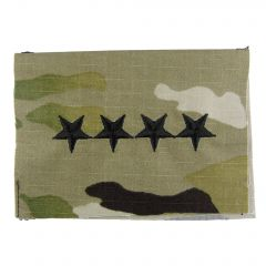 Army Embroidered OCP Sew-On Rank Insignia - General (GEN)