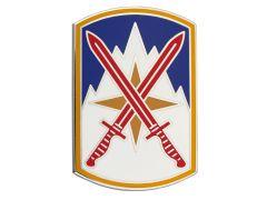 10TH SUSTAINMENT BRIGADE, COMBAT SERVICE IDENTIFICATION BADGE