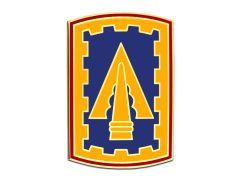108TH AIR DEFENSE ARTILLERY BRIGADE, COMBAT SERVICE IDENTIFICATION BADGE