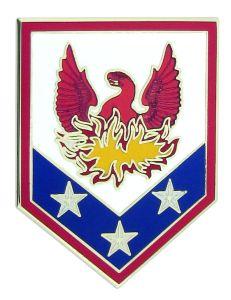 110TH MANEUVER ENHANCEMENT BRIGADE, COMBAT SERVICE IDENTIFICATION BADGE