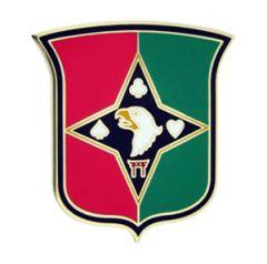 101ST SUSTAINMENT BRIGADE, COMBAT SERVICE IDENTIFICATION BADGE