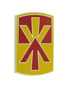 11TH AIR DEFENSE ARTILLERY BRIGADE, COMBAT SERVICE IDENTIFICATION BADGE