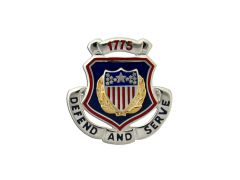 Adjutant  General Army Corps Crest