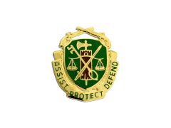 Military Police MP Army Corps Crest