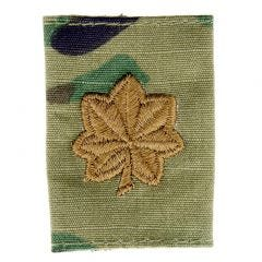 Army Embroidered Gore-Tex OCP Jacket Tab - Major (MAJ)