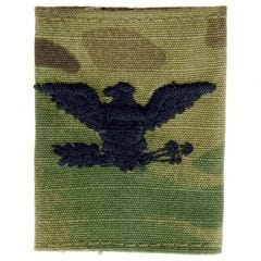 Army Embroidered Gore-Tex OCP Jacket Tab - Colonel (COL)