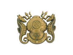 Diver Medical Officer Navy Badge