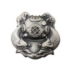 Diver 1st Class Silver-Ox Mini Navy Badge