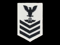 NAVY RATING BADGE, AIR TRAFFIC CONTROLLER E6, CNT, FEMALE