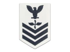 NAVY RATING BADGE, AVIATION MACHINIST'S MATE E6, CNT
