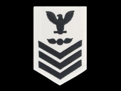 NAVY RATING BADGE, AVIATION ELECTRICIAN'S MATE E6, CNT