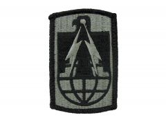 11th Signal Brigade Army Patch ACU with Velcro