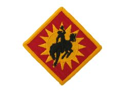 115th Field Artillery Brigade Army Patch Regular New Style