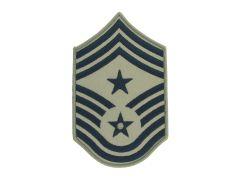 AIR FORCE CHEVRON, COMMAND CHIEF MASTER SERGEANT, ABU, SMALL