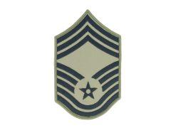 AIR FORCE CHEVRON, CHIEF MASTER SERGEANT, ABU, LARGE