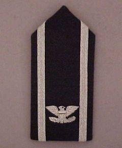 AIR FORCE SHOULDER BOARD, COLONEL HAP ARNOLD DRESS, SMALL