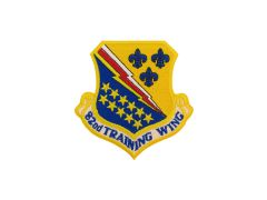 AIR FORCE PATCH, 82ND TRAINING WING, REGULAR