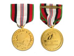 Afghanistan Campaign Anodized Large Medal